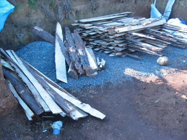Drewno - Magiczna Oaza wrozki Marii Bucardi jak zmienic pustynie w ogrod dla Matki Ziemi