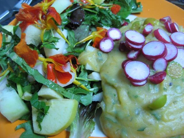 Weganski obiad lub kolacja - Blog Marii Bucardi