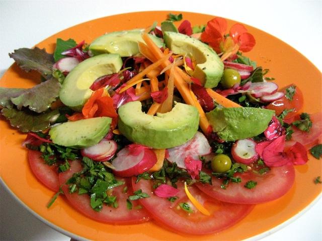 Salatka weganska Marii Bucardi
