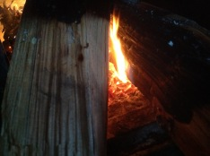 ogien w piecu - pieczemy chleb